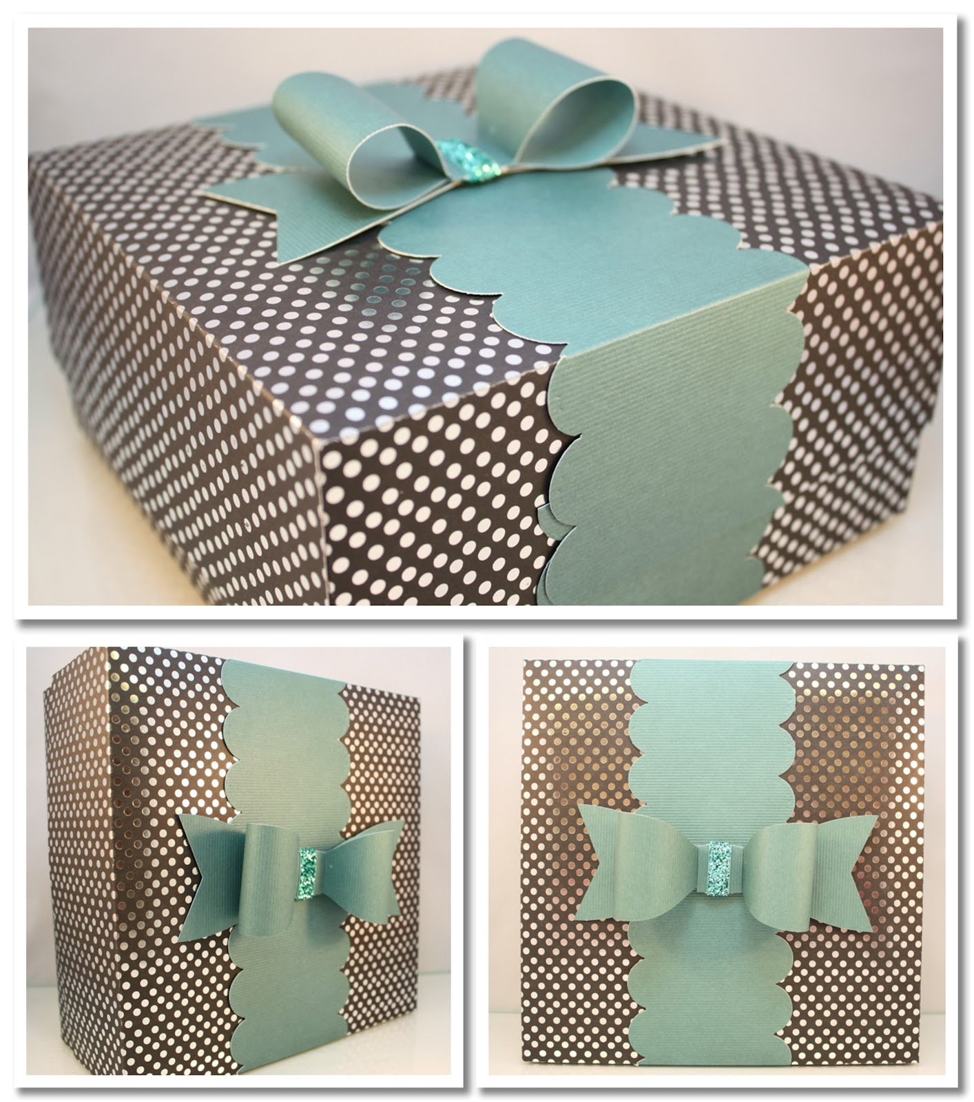 Large Gift Box Tutorial