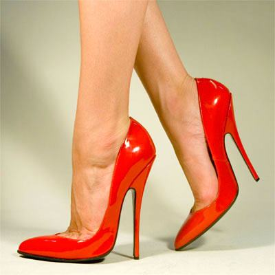 high heel seduction