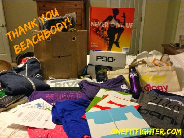 beachbody gifts to coaches