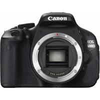 DSLR+CANON+EOS+600D+Body Harga Kamera Canon DSLR Terbaru September 2013