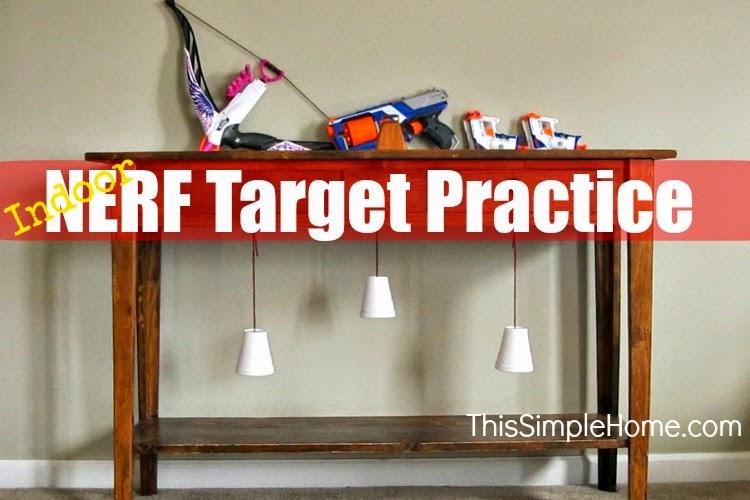 Nerf indoor practice.