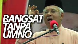 Najib: Orang Melayu akan bangsat tanpa UMNO