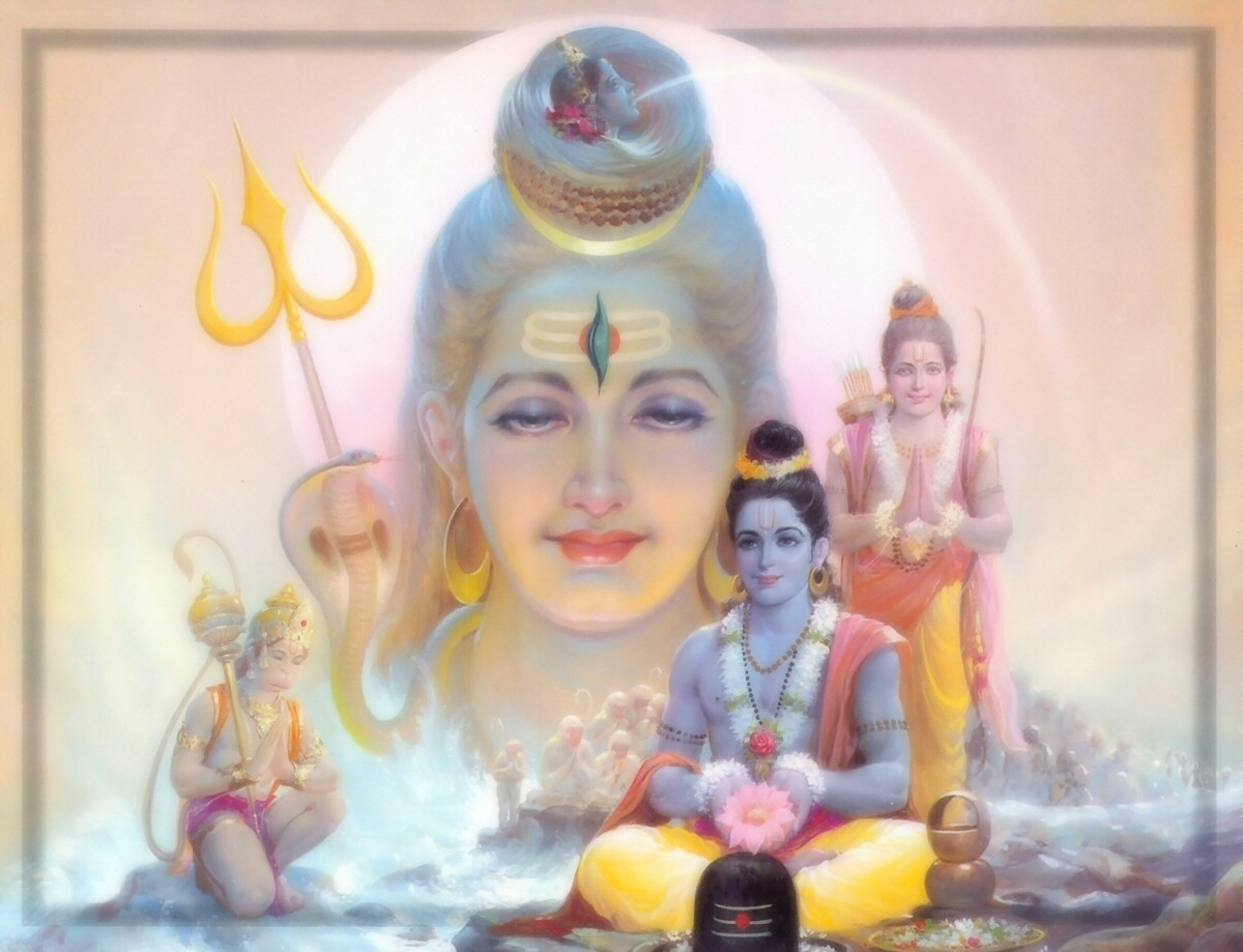 Popular Beautiful Bhagwan Shiv Puja by Shree Ram HD Wallpapers for free download