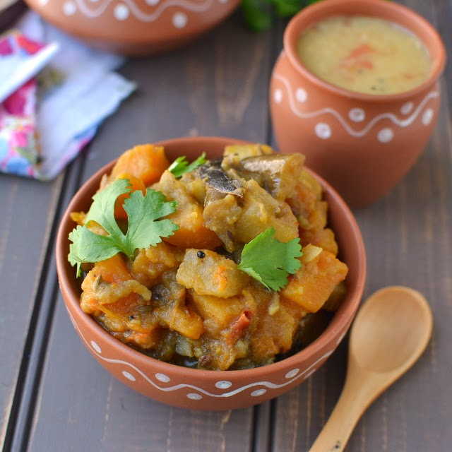 Assam -- Labra (Mixed Vegetable Curry)