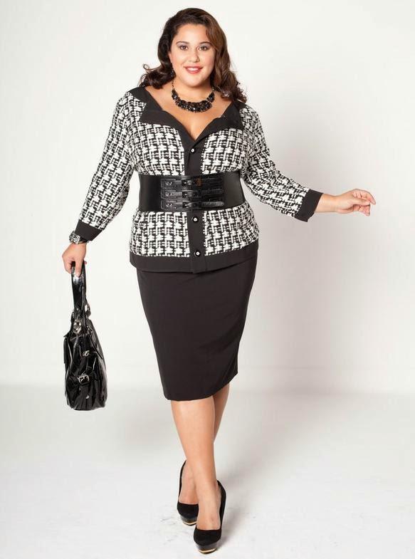 Стиль Одежды Для Полных Женщин