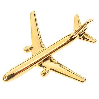 Boeing 767-300 Tie Pin BADGE - 767 300 Tiepin - NEW -