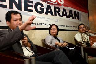 Indra J Piliang, di Dialog Kenegaraan DPD (17/7)