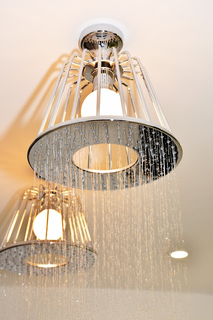 Axor Water Dream series Lamp Shower by, Nendo Japanese design team, Lisa Melvin Design Rugby Warwickshire Buy on display