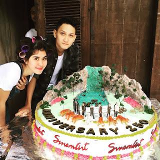 Foto Juan Christian Dengan Syahnaz Anniversary 7MH