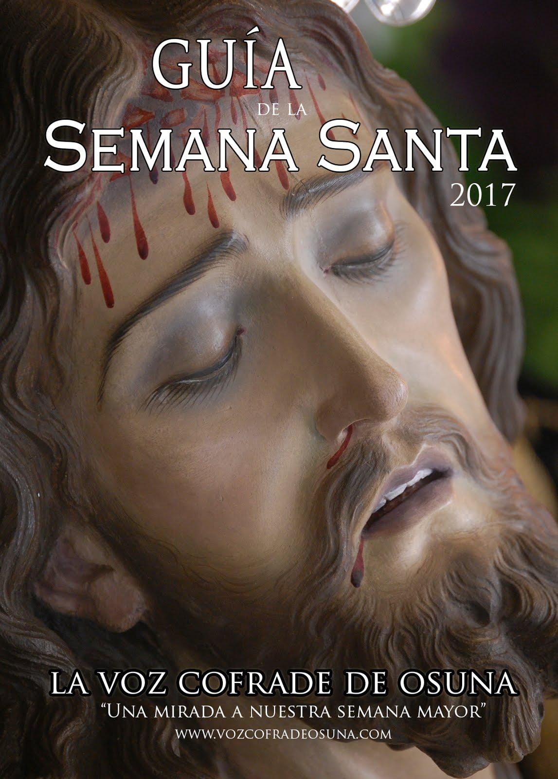 GUÍA DE LA SEMANA SANTA DE OSUNA 2017
