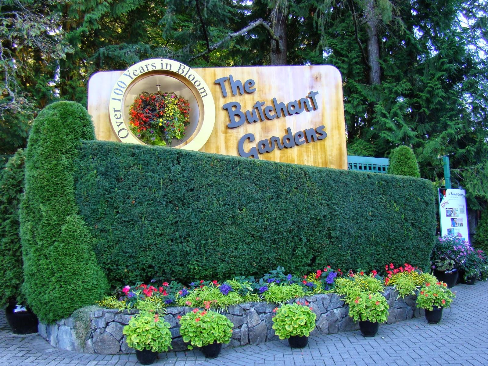 Вход в сады Бутчарт