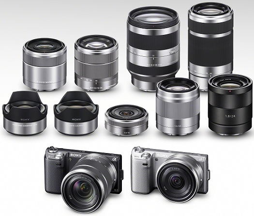sony nex-5n cameras lenses system