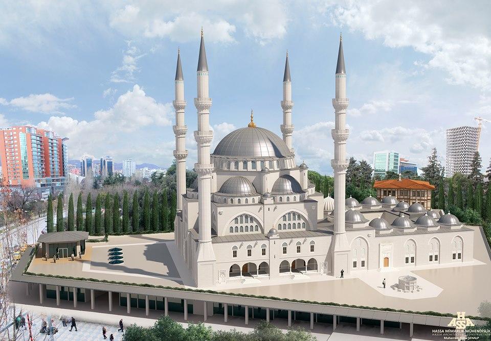 Turki Bangun Masjid Terbesar di Albania