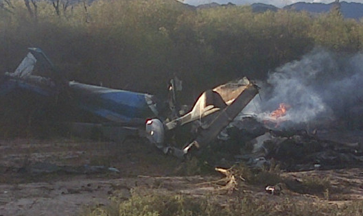 Choque entre elicopteros en argentina deja 10 muertos