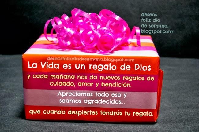 Gracias a Dios por un día más de vida. Imágenes, postales cristianas, tarjetas para facebook de gracias  a Dios por un día más de vida.