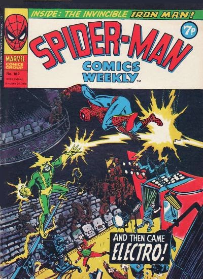 Spider-Man Comics Weekly #102, Electro