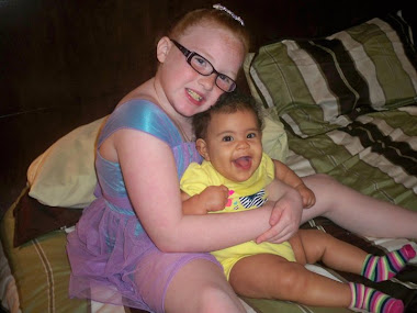 Laureli, and my grand-angel, Kerri