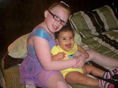 Laureli, and my grand-angel, Kerri