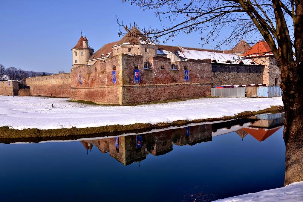 Drummers Bastion in S-E of Fagaras Fortress