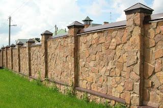 Каменный забор. Фото 3