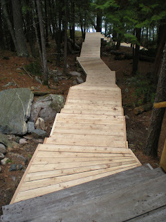 Western, red, cedar, stairs, to the lake, ely mn, http://huismanconcepts.com/
