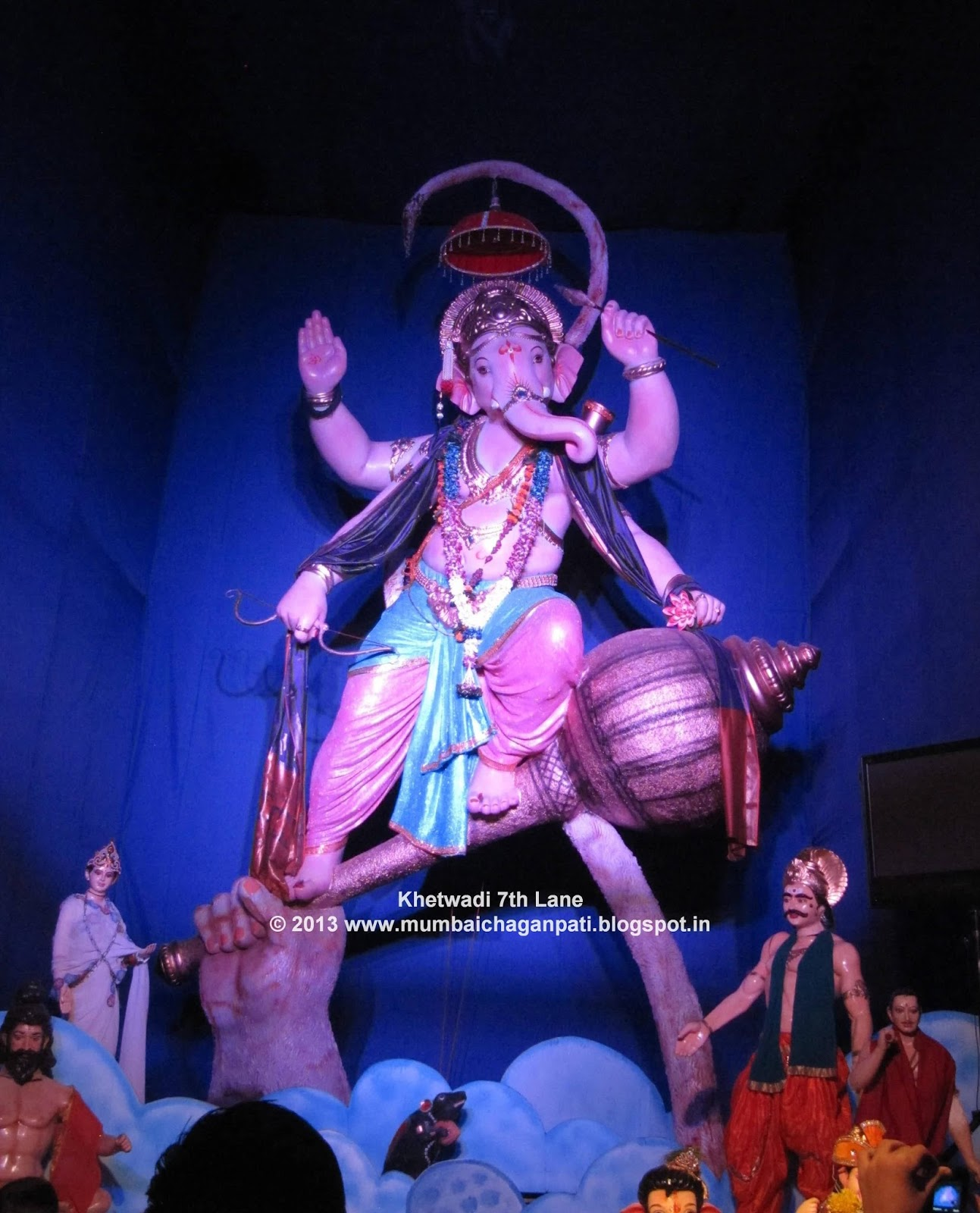 Khetwadi 7th Lane Sarvajanik Ganeshotsav Mandal-2013