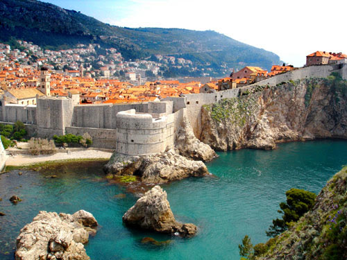 Dubrovnik en Croacia, turismo de playa