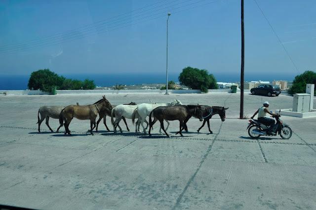 ISLAS GRIEGAS: El pueblo de Oia en Santorini