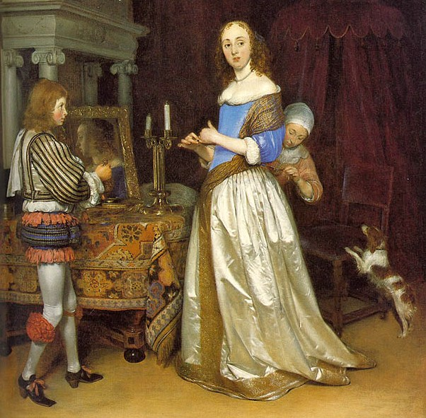 Gabriel metsu dutch baroque era painter 1629 1667 the for During the baroque period