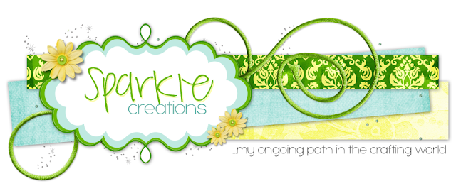 Sparkle Creations Blog Design