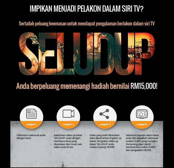 Uji Bakat Seludup Peluang Menang RM15,000