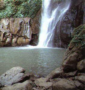 A small water falls, Sitakundu, Bangladesh