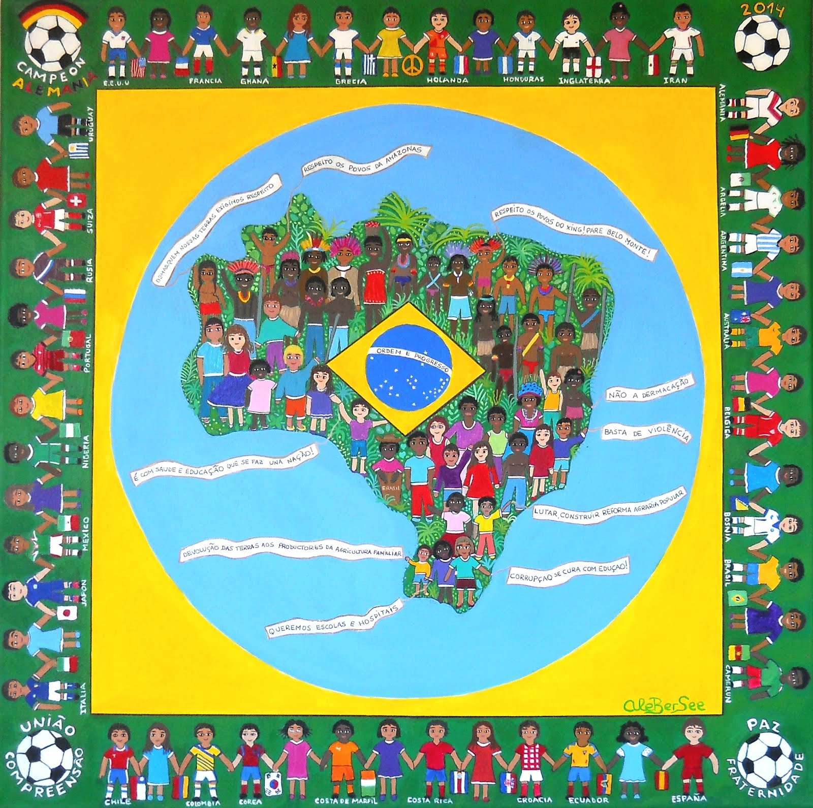 """El Mensaje"" Mundial Brasil 2014"