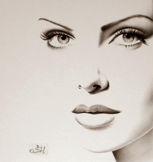 06-Artist-Ileana-Hunter-Minimalist-Hyper-Realistic-Portraits-www-designstack-co