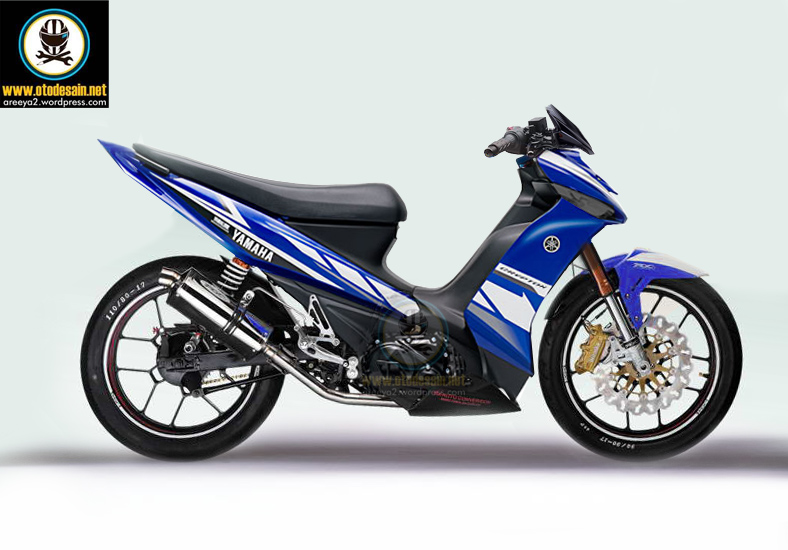 Variasi Motor Yamaha Vega Zr  tahun ini