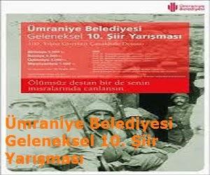Ümraniye Belediyesi Geleneksel 10. Şiir Yarışması