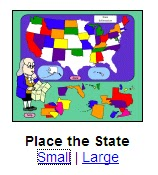 Place the State graphic