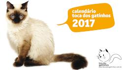Calendários Toca dos Gatinhos 2017