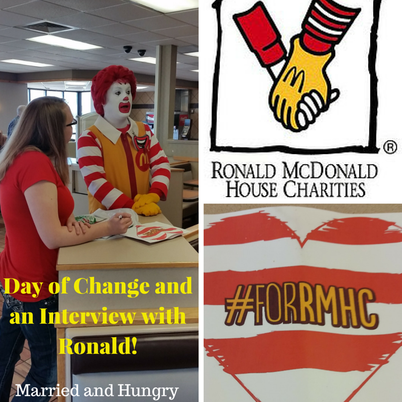 An interview with Ronald During the Central Arkansas McDonald's Day of Change