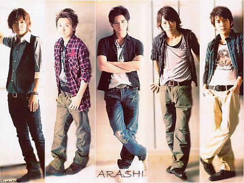 Boyband ARASHI