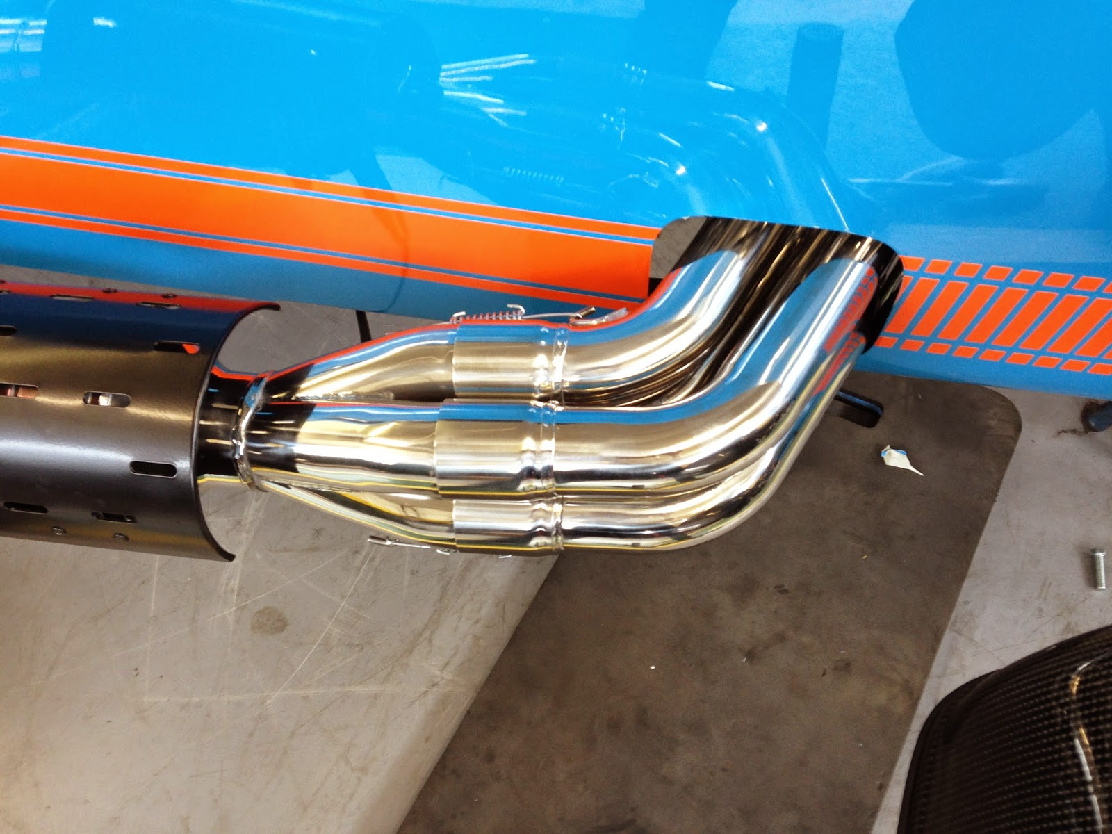 Caterham R500 exhaust primaries