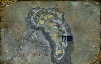 Deepmist Grotto Location