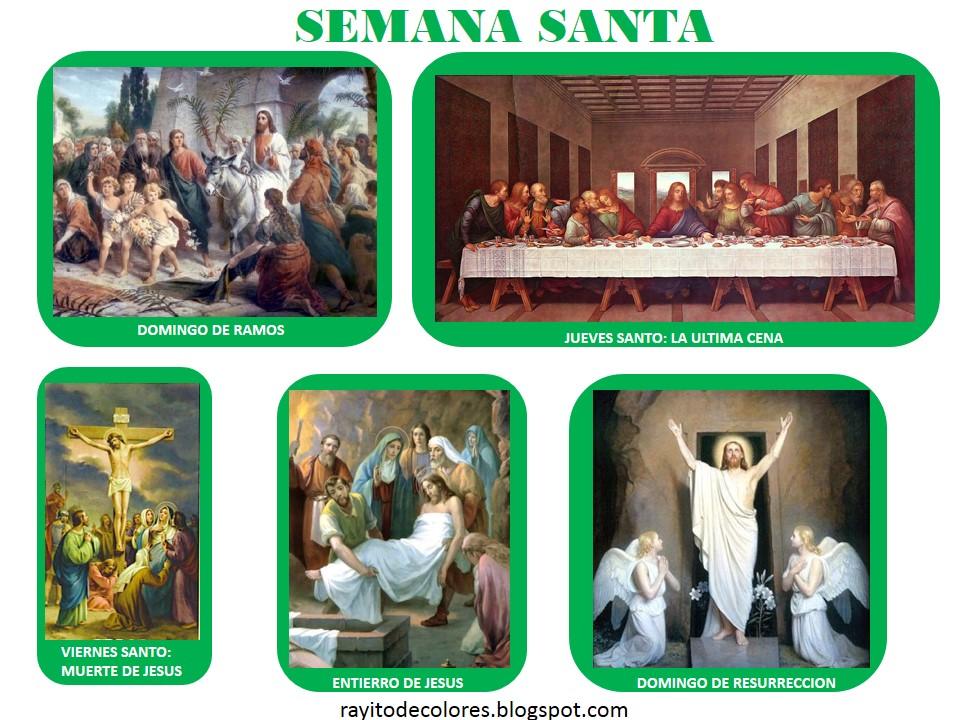 Semana Santa imágenes para imprimir