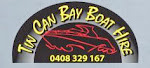 TIN CAN BAY BOAT HIRE . . .