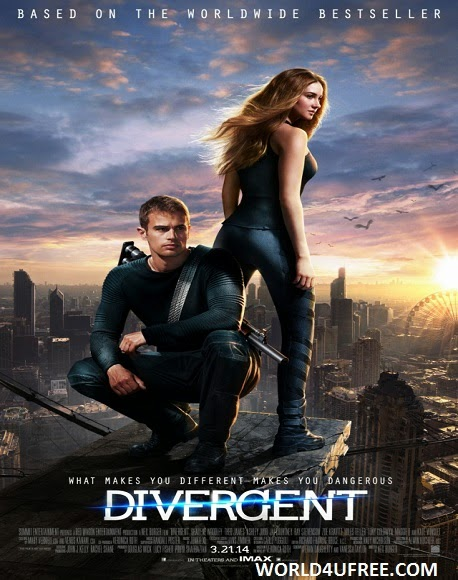 Divergent 2014 HD TSRip 300mb