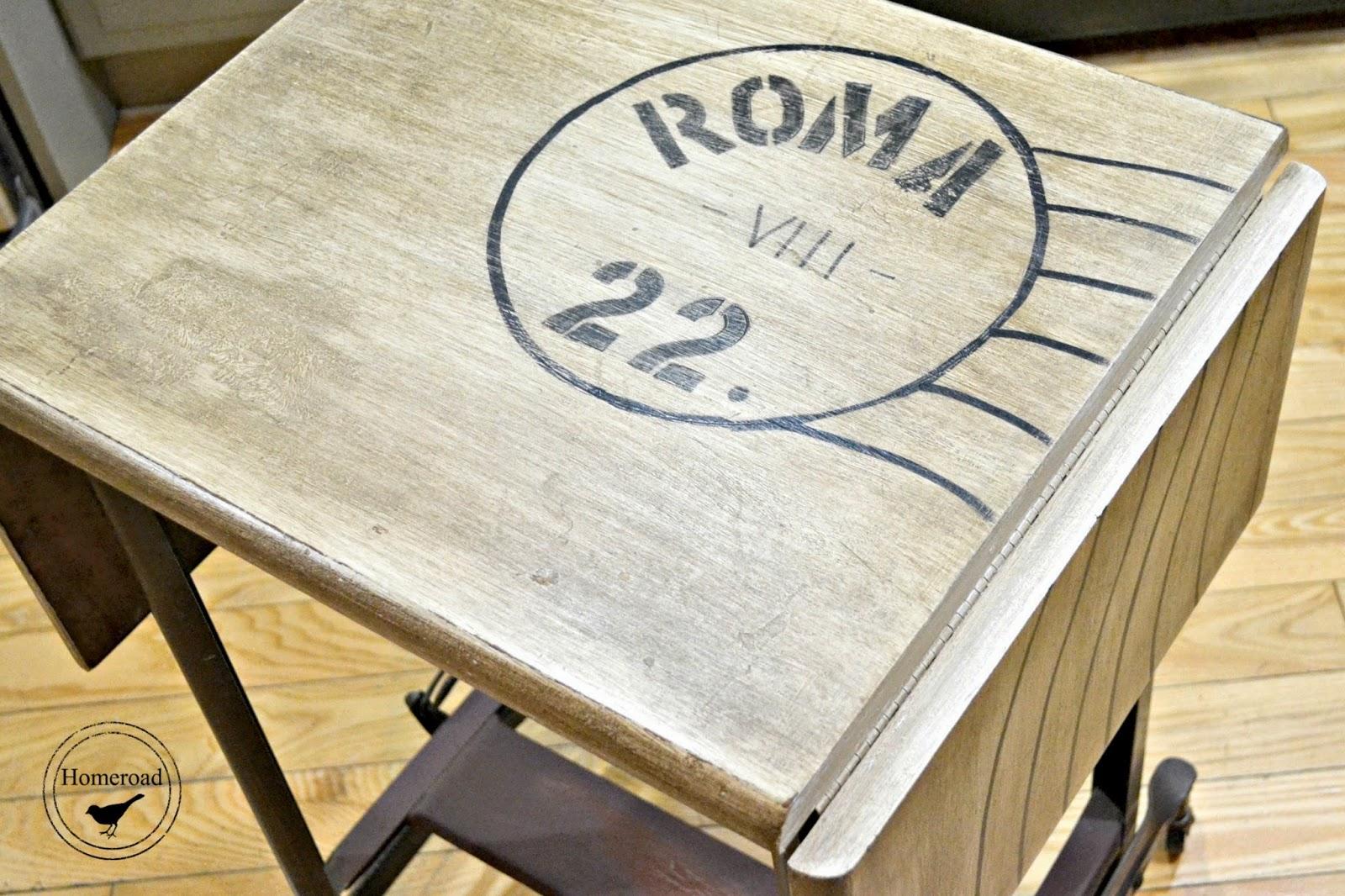 Vintage Typewriter Desk Table www.homeroad.net