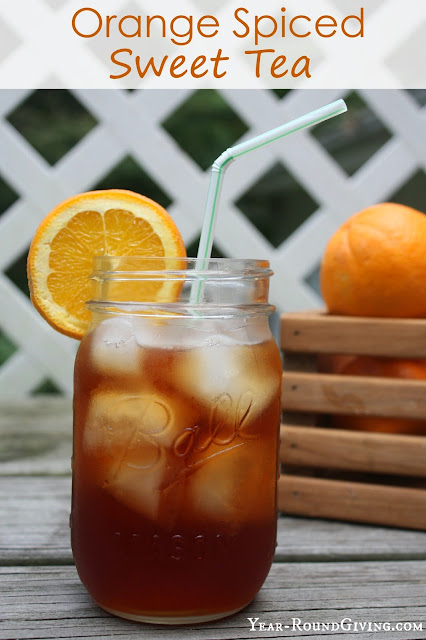 Orange Spiced Sweet Tea