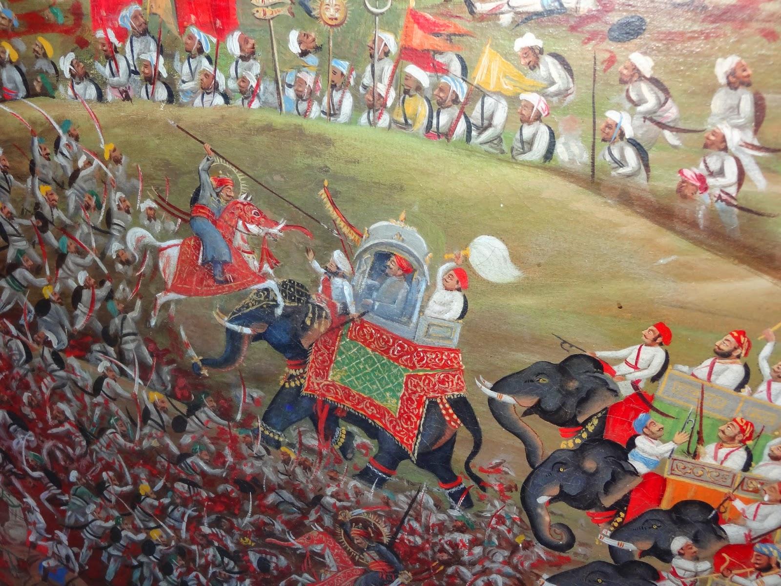 Maharana Pratap painting