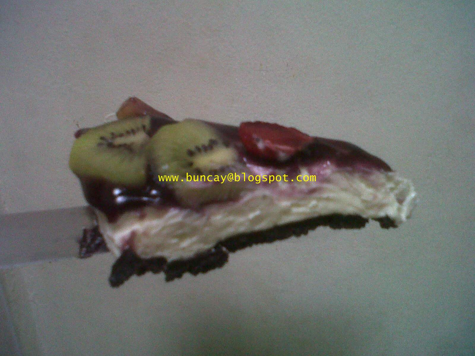 Buncay's creation: Unbaked Cheese Cake