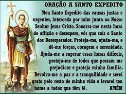 Obrigada Santo Expedito